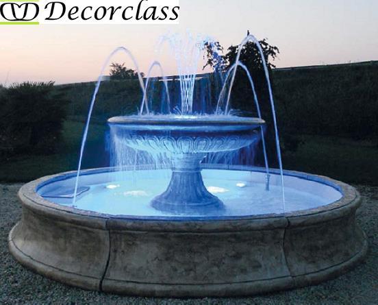 Fontane da giardino fontane in cemento fontane in cemento for Fontane d arredo per interni